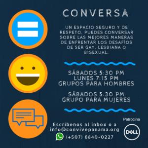 Conversa, Convive, Panamá